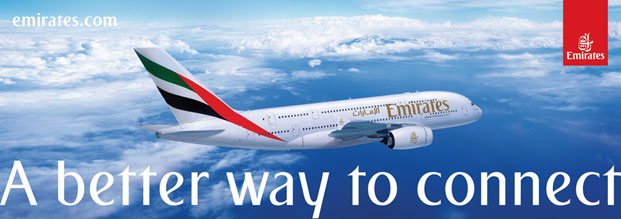 Travel on Emirates to Moscow
