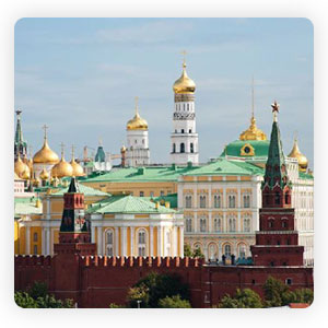 Treasure of Moscow Kremlin Territory